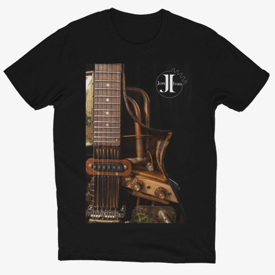 Buy a Jon Ivan Guitar T-Shirt.